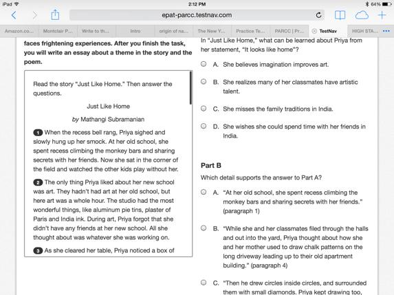 Nj Ask  th Grade   nj ask practice  th grade test prep books   new