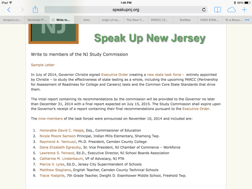 Mom to Common Core task force: Take the 4th-grade PARCC practice ...