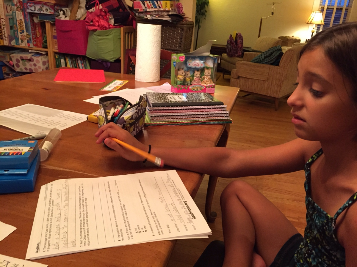 Do teachers give to much homework